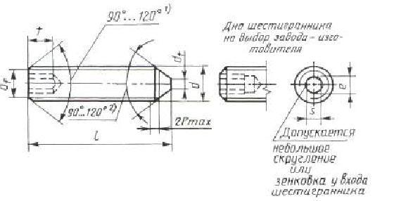 Винт ГОСТ 8878-93
